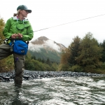 Fly Fishing for Coho Salmon on Kodiak Island, Alaska