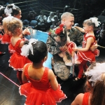 I'll be Home for Christmas - Military Dad Surprises Daughter on stage at her Holiday Dance Recital