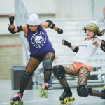 Roller Derby State Tournament in Billings for Montana Quarterly Magazine