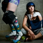 Faces of Montana Roller Derby - Portrait Session