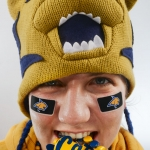 Photographing Montana State University Gear for Surviving the cold Football Playoffs
