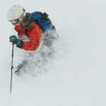 Powder Day at Bridger Bowl Ski Area