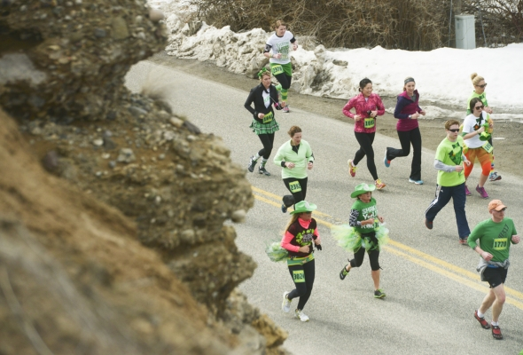 Photos from 2014 Bozeman Run to the Pub 10K/Half Marathon Race