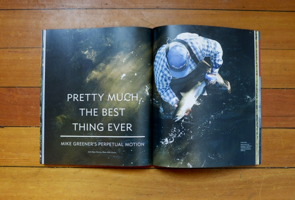 Mike Greener Photography featured in The Fly Fish Journal