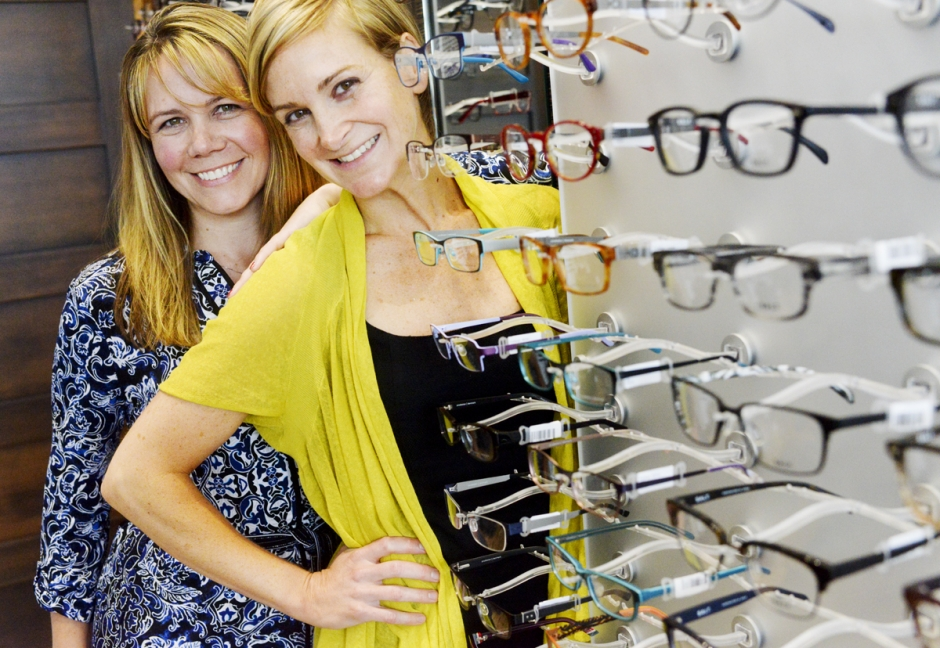Dr. Sarah Hill and Dr. Sarah Kirkpatrick of 20Twenty Eyecare started their eye care practice in 2013 with the goals of maintaining their own family lives while running a business.