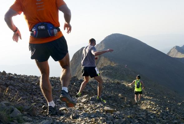 Photographing the 2014 Bridger Ridge Run