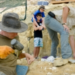 Make-A-Wish kid Andrew Rhoden visits a real dinosaur excavation dig outside of Livingston, Montana through the help of the Museum of the Rockies.
