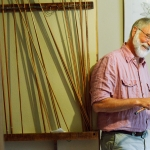 Mike Greener/Chronicle Bill Blackburn, a lifetime fly fisherman, has been making custom bamboo fly rods for the past 20 years.