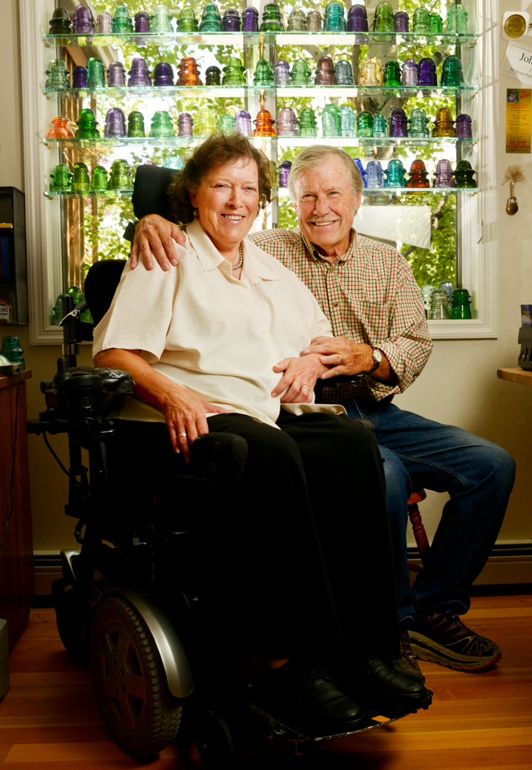 Peggy and John Vincent have been married for almost 50 years.